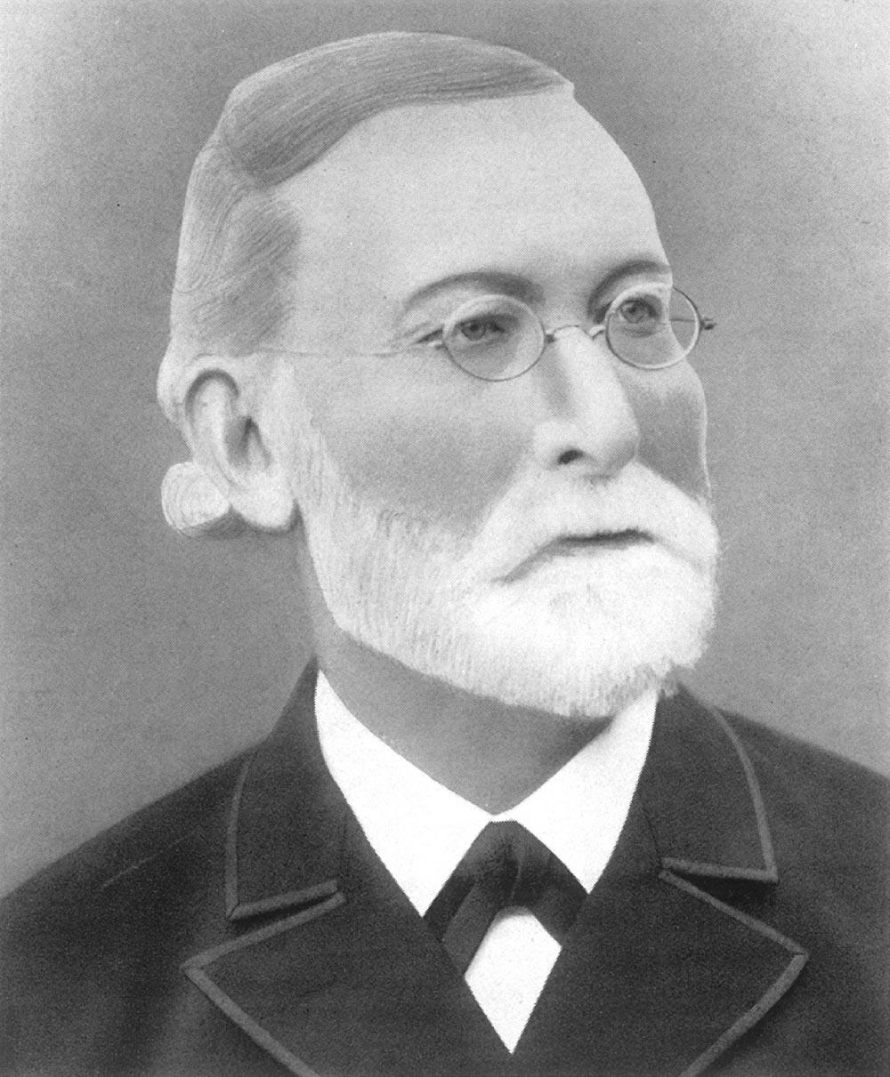 Firmengründer Friedrich August Gotthard Reck