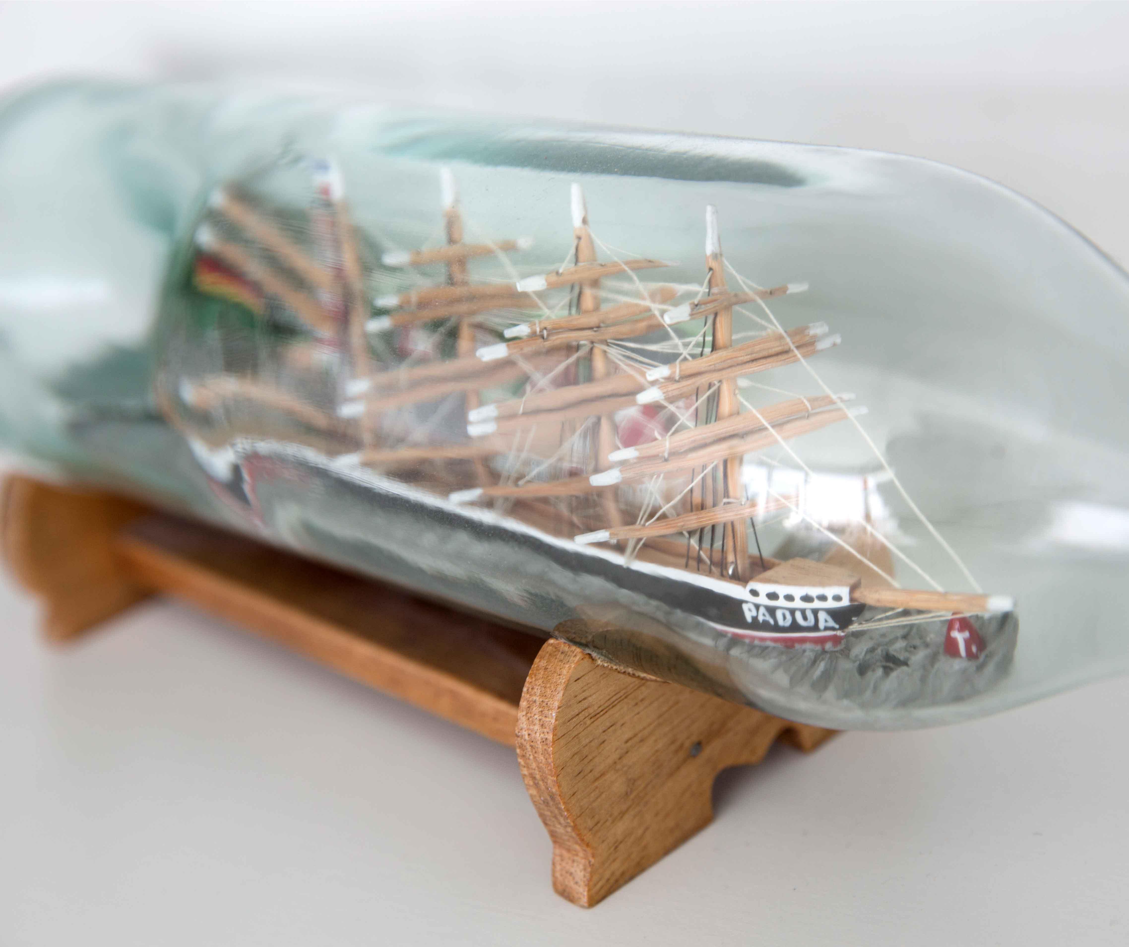 Reck & Co. Buddelschiff Padua