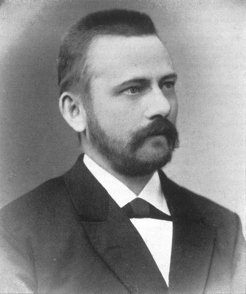 Der spätere Firmenpartner Franz Heinrich Kasten